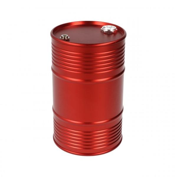 Ölfass Aluminium Rot