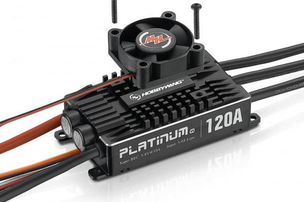 Platinum Pro 120 Regler V4 3-6s, 10A BEC