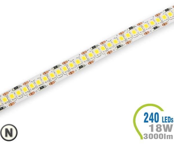 LED Stripe 240 LED/m 3000 lm/m A++ Neutralweiß