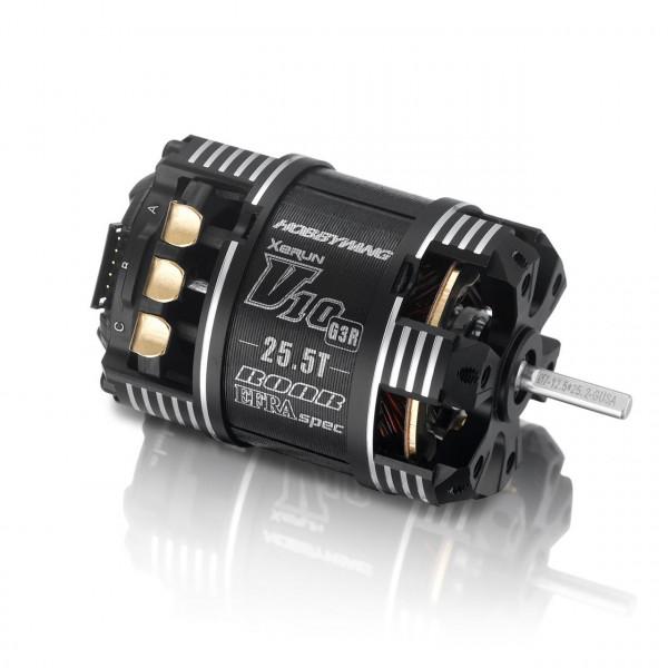 Xerun V10 Brushless Motor G3R (2-3s) 25.5T Sensored für 1:10