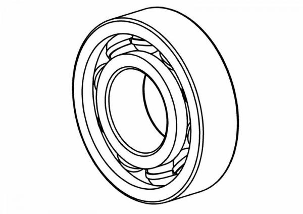 Kugellager 6804 2RS (20x32x7) / Radträger innen / Zwischenwe
