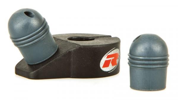 Tankflaschen Kappen-Halter & 2 Kappen