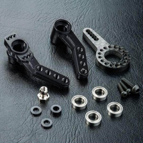 RMX 2.0 Alum. steering arm (black)
