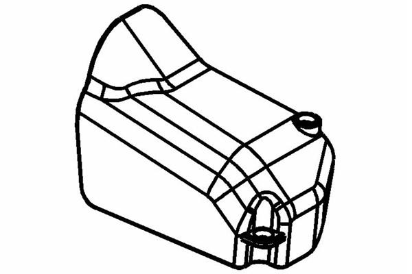Isolator für Resorohr / Vergaser
