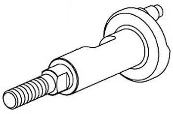 Kurbelwelle für Seilzugstarter 2,5ccm