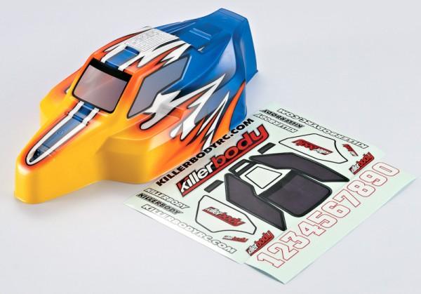 Buggy Offroad Karosserie für MBX-6 lackiert