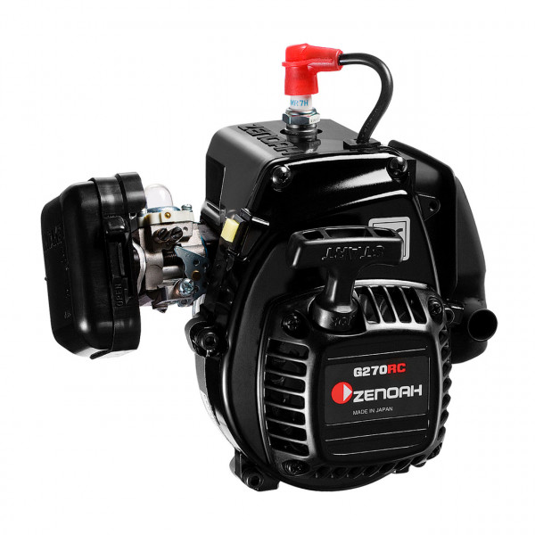 Zenoah G270RC Motor 25,4ccm (inkl. Kupplung, Filter, Reso)