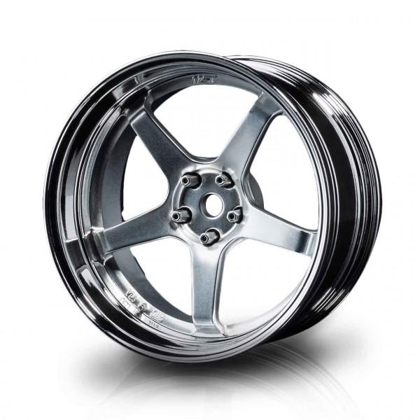 Drift Felge GT Silber-Silbermatt Offset verstellbar (4)