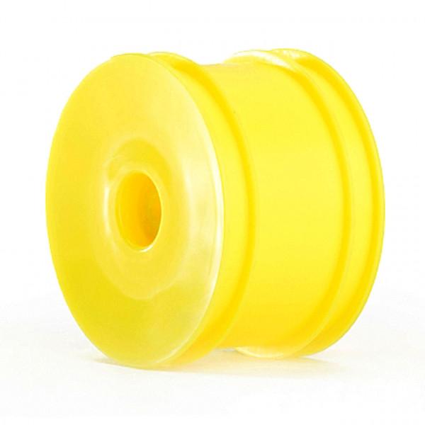 55x38mm 2WD+4WD Rear Wheels 12mm*2pcs(Yellow)