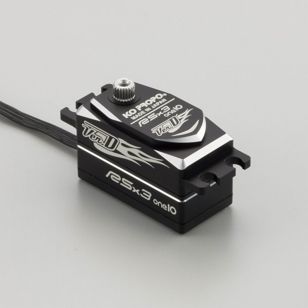 RSx3 One 10 Drift LowProfile 8.2kg/0.06sec @7.4V