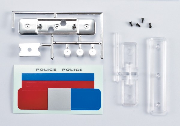 Polizei Lichtset ohne LED