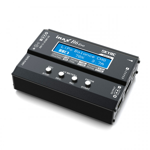 B6DC Evo Ladegerät LiPo 1-6s 6A 60W