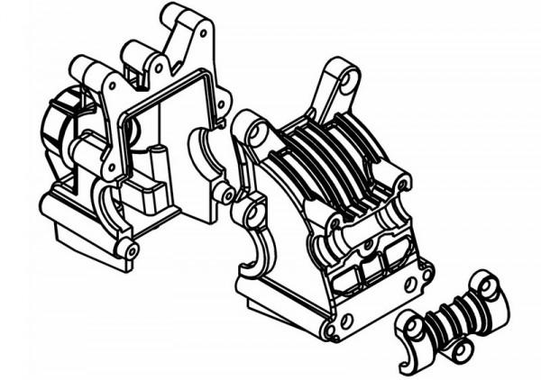 Differential / Getriebebox vorne / hinten