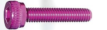 M3x15mm Zylinderkopfschraube purple (4)