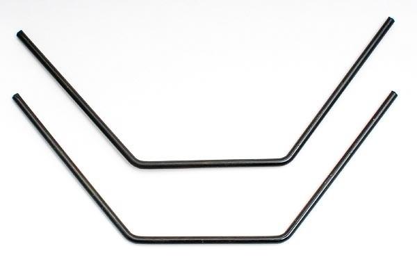 Stabilisator vorne/hinten 4mm schwarz hart
