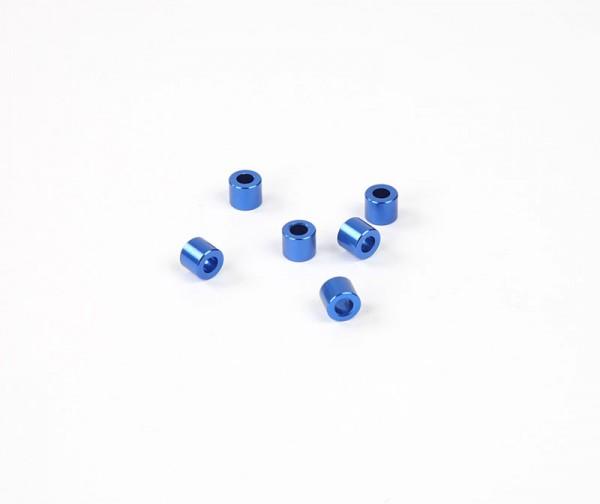 5x6mm Distanzstück - Blau (6Stk.)