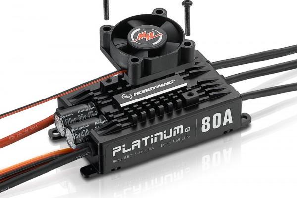 Platinum Pro 80 Regler V4 3-6s, 7A BEC