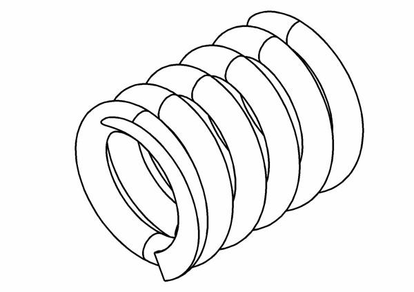 Federn 1,2mm für Pro-Bite Kupplung