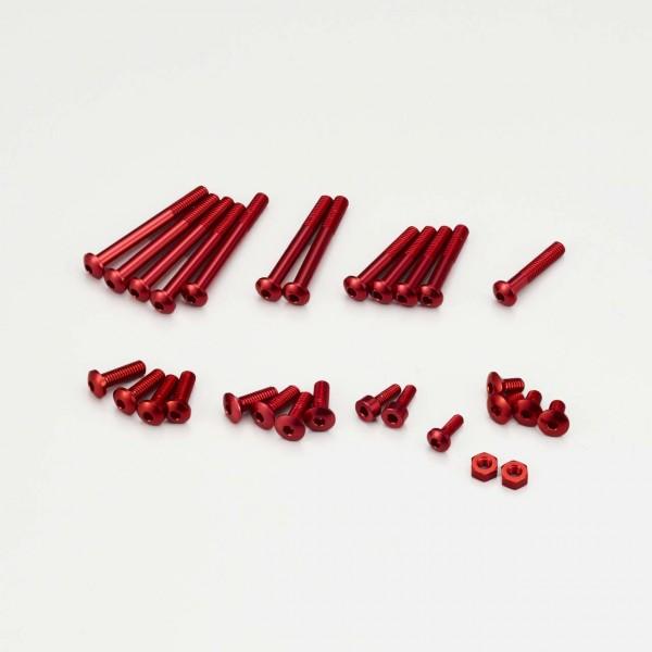 Aluminium Schraubenset Rot für EX-RR, EX-2