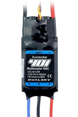 XC-401-MR Multicopter Regler 40A 2-6s LiPo kein BEC