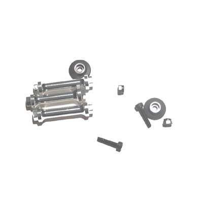 Spoilerhalterverbindungsbolzen Aluminium (3 Stk.)