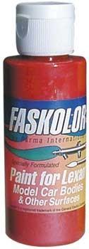 FasFluorescent Rot Airbrush Farbe 60ml