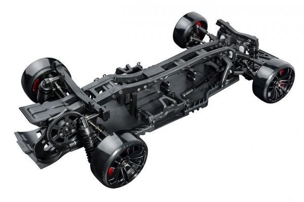 RRX 2.0 Black Drifter KIT Heckmotor Radstand 257mm
