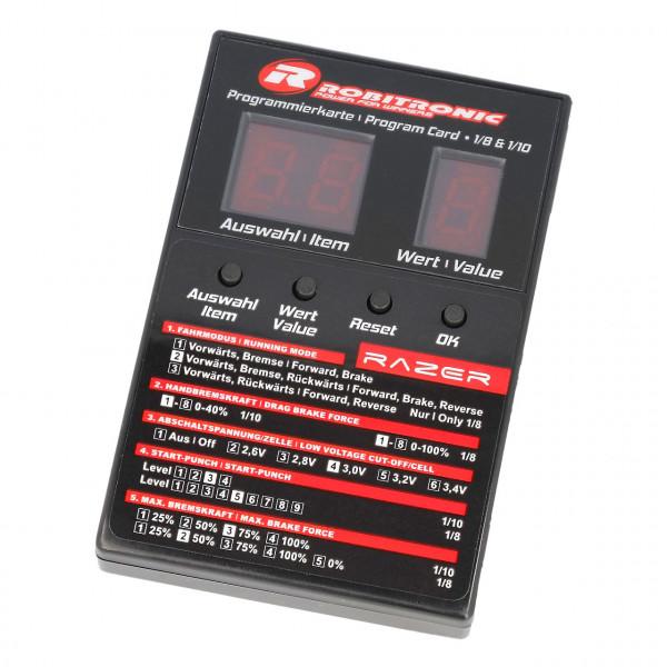 LED Programmierbox Razer ten & eight