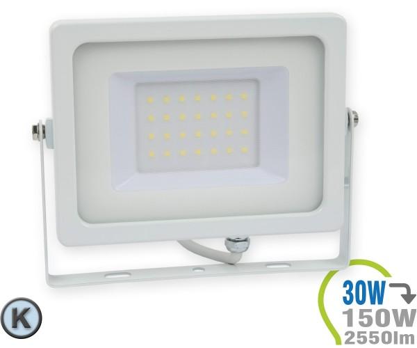 LED Strahler 30W SMD Slim Kaltweiß