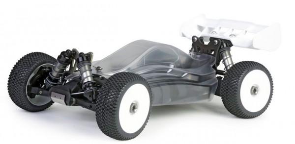 Hyper VSE Pro Buggy Elektro 1/8 80% ARR Roller (klare Kaross