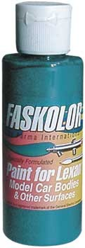 Fasescent Türkis Airbrush Farbe 60ml