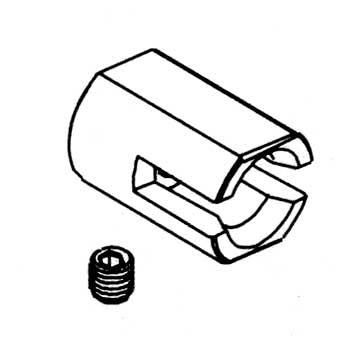 Kardanmitnehmer 7mm für Bremse