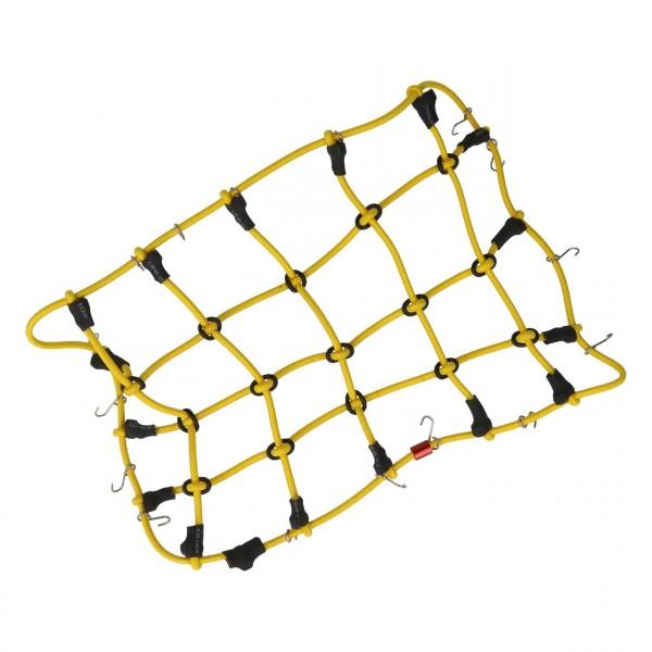 Gepäcknetz mit Haken Gelb (200mm x 120mm)