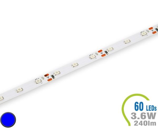 LED Stripe 60 LED/m 240 lm/m Blau