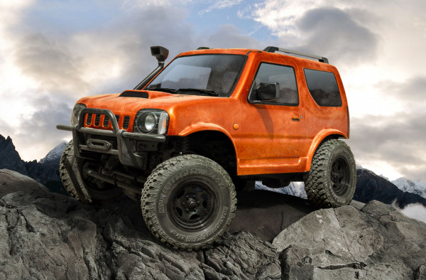 CMX J3 Crawler RTR Orange Radstand 242mm
