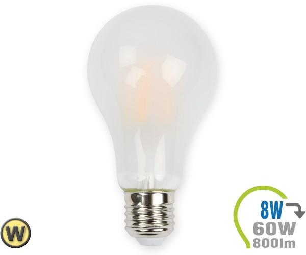 E27 LED Lampe 8W Filament matt A67 Warmweiß