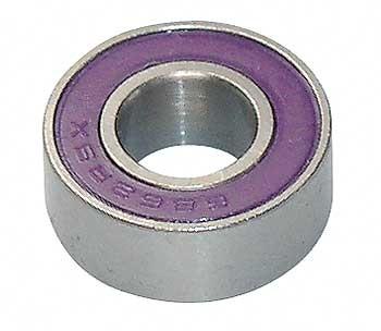Kugellager 6x13x5 mm mit Gummidichtung