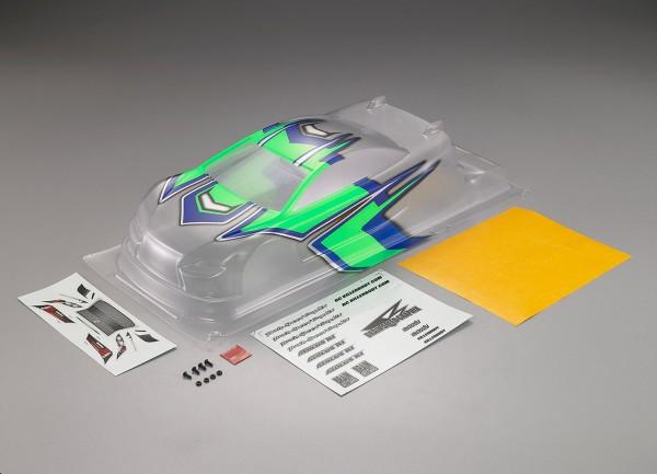Aeolus K1 Karosserie Blau/Grün teillackiert 190mm EFRA Legal