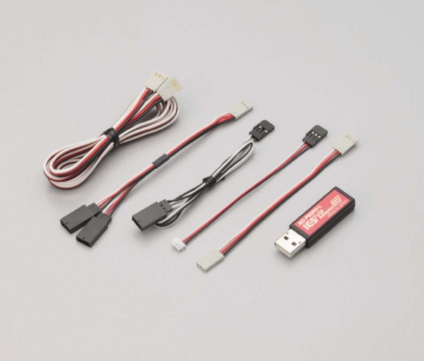 ICS USB Adapter HS für Setup von Servo und Funke