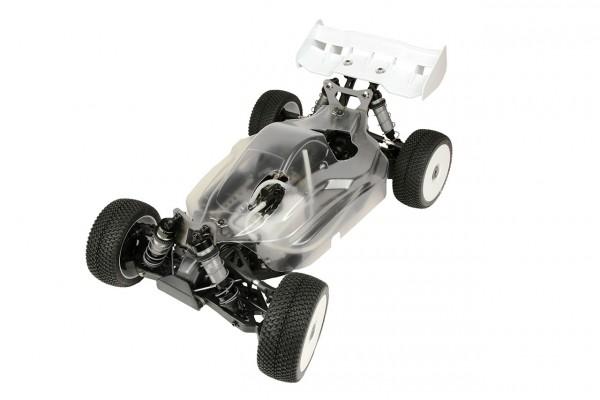Hyper VS Nitro Buggy 1/8 80% ARR Roller (klare Karosserie)