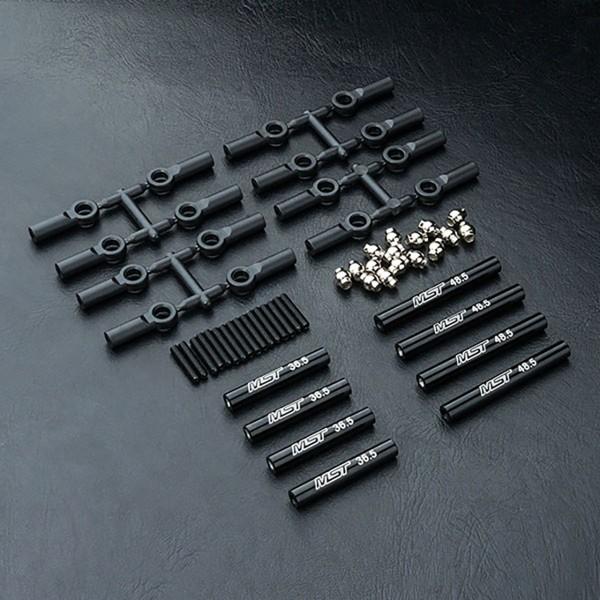 Verbindungsstange Set Alu schwarz 242mm CMX