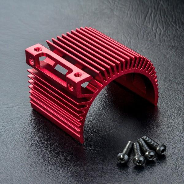 Motorkühlkörper Alu rot
