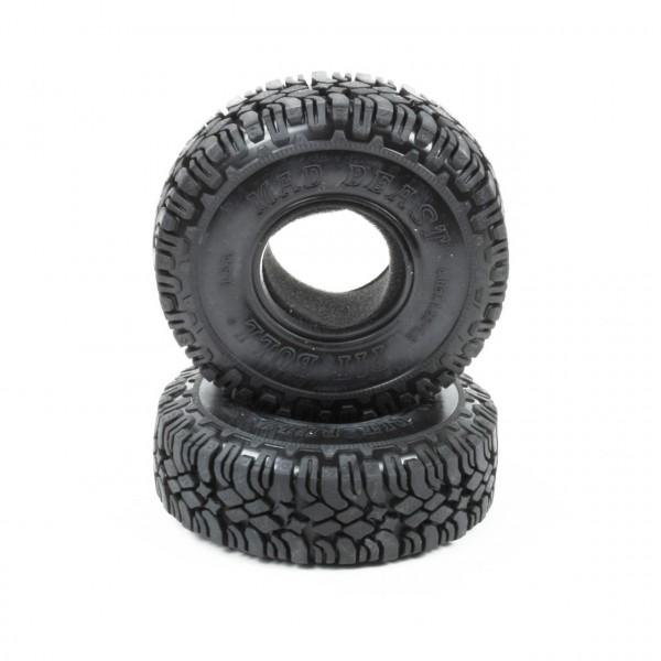 Mad Beast 1.9 Scale Reifen Komp Kompound mit Einlagen (2 Stk