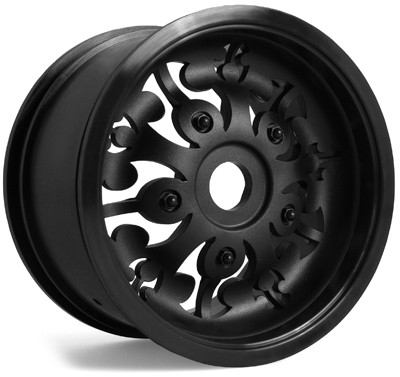 Axial Signature Monster Truck Felgen (Schwarz) (2Stk.)