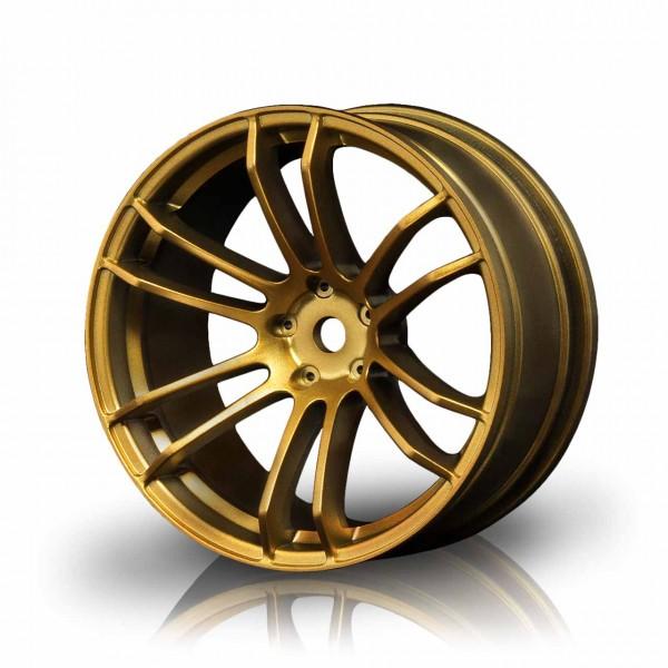 Drift Felge TSP Gold (+5mm Offset) (4 Stück)