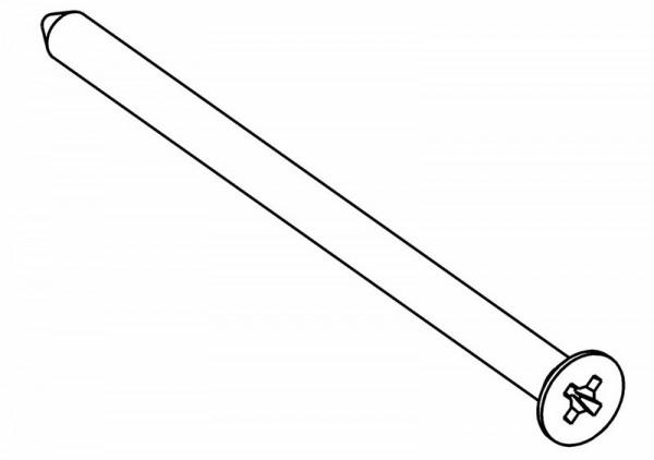 Senkkopf PZ2 Schneidschraube 4x70 mm