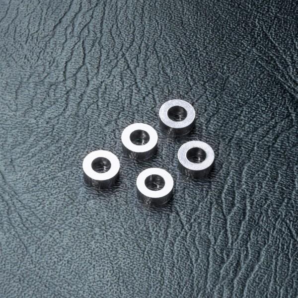 Beilagscheibe Alu 3x5.5x2.0 silber (5 Stück)