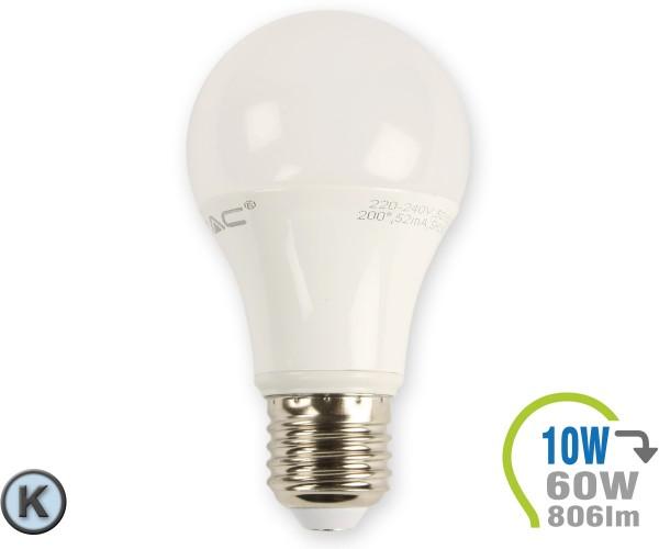 E27 LED Lampe 10W A60  Kaltweiß