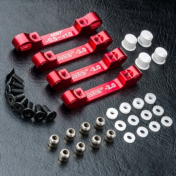 Querlenkerhalterung Aluminium rot RMX 2.0
