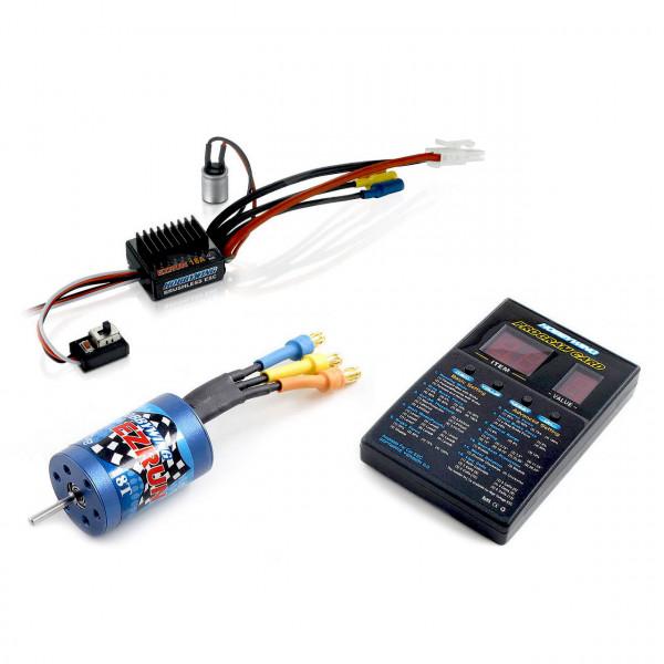 Ezrun SL18 Combo mit 2030-18T und Card Brushless für 1:18
